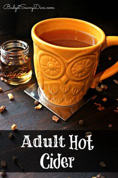 Hot Cider with a touch of spiced rum! Make this recipe in your crock pot . Perfect for any holiday celebration