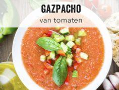 Gazpacho van tomaten