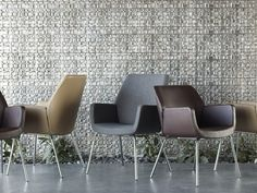 Bindu Guest Chairs, High and Low backs.