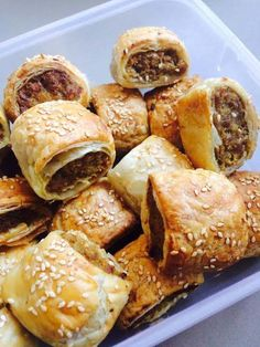 Classic Meat Sausage Rolls - Cooking with Tenina