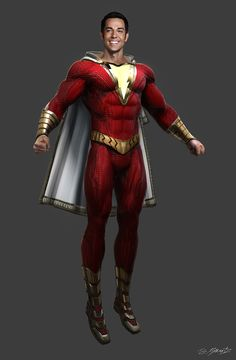 It was a real challenge bringing this character to life and we had an incredible team! Shazam Comic, Captain Marvel Shazam, Superhero Characters, Dc Characters, Marvel Dc Comics, Justice League Doom, Young Justice Superboy, Batman Party, Graphic Novels