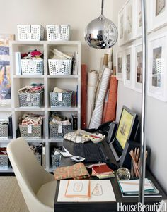 Office Decorating Ideas - Home Office Design Photos - House Beautiful