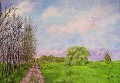 GALERIA PALOMO MARIA LUISA: SERENIDAD Painting, Art, Serenity, Illusions, Country, Scenery, Flowers, Art Background, Painting Art