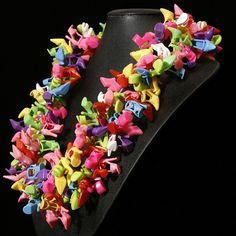 Fabulous Barbie Shoe Necklace ... Garden Party by Sara Gallo  Doll Shoe Jewelry by Sara Gallo- www.SaraGallo.com