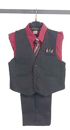 The perfect way to coordinate your little prince with that upcoming special event. This handsome 4 piece boys vest set comes as pictured. Style comes with pin s. Red Flower Girl Dresses, Flower Girls, Girls Dresses, Bridesmaid Flowers, Bridesmaids, Marsala, Special Events, Prince