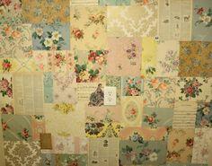 wallpaper patchwork walls