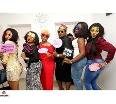 Full Photos From Eniola Badmus' 39th In-door Birthday Party