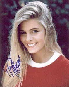 Nicole Eggert probably during Charles in Charge and before Baywatch.