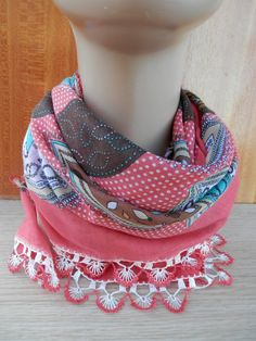 Turkish hand embroided women's scarf. by ALIFEINCOLOURS on Etsy, $21.00