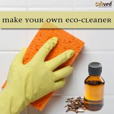 Make your own Eco-Cleaner. If you got mold in the house, then skip the harsh chemicals and eliminate it with cloves. Clove oil can reduce existing outbreaks and prevent future ones in affected spots. Mix ½ tea spoon clove oil +2 cups of water and use it to spray or scrub susceptible spots like shower walls, outdoor cushions. Be Balanced. Be Natural. Be You. – Omved