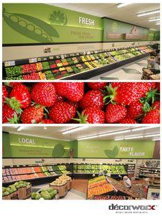 Produce, #Decorworx #Retail Design
