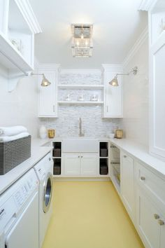 10 Reason you should update your laundry room with the color yellow