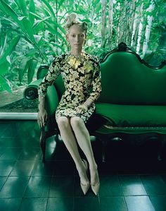 The Surreal World: Tilda Swinton para Revista W, diciembre 2014