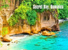 #Swimming destination: Secret Bay, Dominica