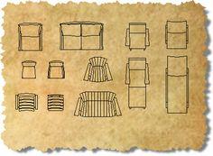 Furniture floor plan vector premium zent design 2d for Outdoor furniture 2d cad blocks