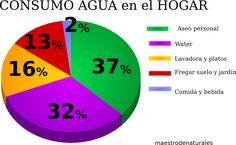 Resultado de imagen para CONSUMO DE AGUA HOGAR Chart, Mopping Floors, Water, Home