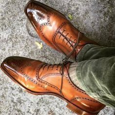 Oxford Wing Toe Two Tone Brogues, Men Handmade Dress Formal Shoes, Lace up Offic. - Oxford Wing Toe Two Tone Brogues, Men Handmade Dress Formal Shoes, Lace up Office hoes from leather - Leather And Lace, Suede Leather, Leather Shoes, Real Leather, Italian Leather, Leather Tassel, White Leather, Leather Brogues, Men's Leather