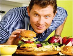 Love me some Bobby Flay!!!  I so want to eat at one of his restaurants. One day!!!!