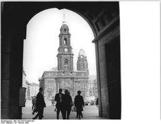 Dresden, Kreuzkirche, 1969