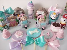 Paw Patrol Party, Paw Patrol Birthday, Girls Cup, Show Da Luna, Oreos, 2nd Birthday, Chevron, Cupcake, Kids