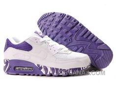 Ken Griffey Shoes Nike Air Max 90 White Purple [Nike Air Max 90 - Famous Nike Air Max 90 White Purple shoes are lightweight and breathable. Nike Store, Nike Fashion, Sneakers Fashion, Fashion Shoes, Fashion Kids, Fashion Outfits, Fashion Design, Fashion Trends, Air Max 90 Blanche