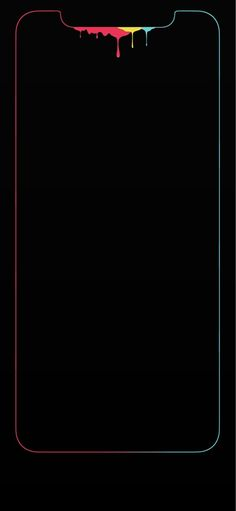 Rainbow Edge Wallpaper Iphone 11 Pro Max