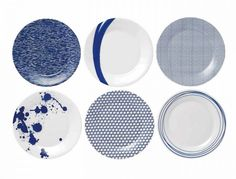 Pacific Plates, £36 for set of 6, Royal Doulton