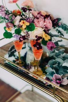 golden emillie signature wedding cocktail recipe