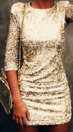 Shining mini dress fashion for parties