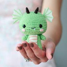 Drac de ganxet / Dragón de ganchillo / Crochet dragon