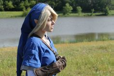 Blue Tunic Link Cosplay 7 by Juliana-Nasome