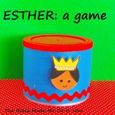 Make a bingo game with this toy. Children make their own bingo cards and learn… Bible Story Crafts, Bible Stories For Kids, Bible School Crafts, Bible Crafts For Kids, Preschool Bible, Bible Study For Kids, Bible Lessons For Kids, Kids Bible, Bible School Games