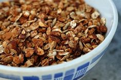 david lebovitz's granola recipe  adapted from Nigella Lawson's book Feast