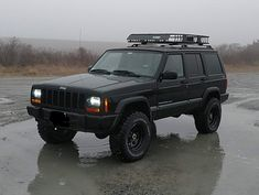 Cherokee's 1999 Jeep Cherokee Sport with Mastercraft Courser MXT tires on 15 inch wheels. Jeep Cherokee Wheels, Jeep Grand Cherokee Sport, Lifted Jeep Cherokee, Jeep Wheels, Jeep Sport, Jeep Xj, Jeep Truck, 2016 Jeep Cherokee Trailhawk, Jeep Camping