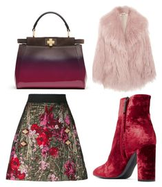 """Untitled #2"" by patrca-h-ova on Polyvore featuring Dolce&Gabbana, Miu Miu, Yves Saint Laurent and Fendi"