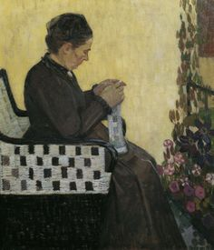 Broncia Koller-Pinell: 'The Artist's Mother', 1907