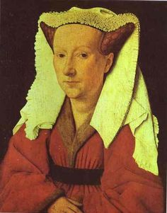 Portrait Of The Artists Wife - van Eyck