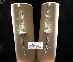 I mie orecchini Niagara, vincono la Swarovski Competiton nel 2014 #becharmed #swarovski #earrings #orecchini #handmadejewelry #jewelrydesign