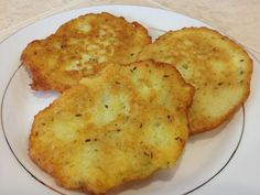 Ingredients: Makes: About 10 Prep: 10 min. Cook/Fry: 30 min. Total: 40 min. 6 medium size potatoes 1 egg 1 tsp salt 1 tsp marjoram 1/2 tsp caraway seeds 2 cloves of garlic 1/3 cup flour oil for frying