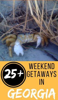 25+ Weekend Getaways in Georgia