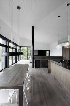For architects, black is the new black - The Globe and Mail; Dining pendants