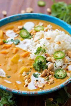 This one-pot sweet potato coconut curry is bursting with sweet and spicy flavor! Grab a bowl and cozy on up with this fall-inspired dish!