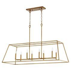 Transitional Pendant Lighting, Lantern Pendant, Light Pendant, Gold Pendant Lights, Linear Chandelier, Linear Lighting, Candelabra Bulbs, Kitchen Lighting, House Lighting