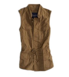 Love this vest!  Great layering piece that will take you through the seasons