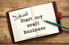 Starting up a craft business - a 2 part guide