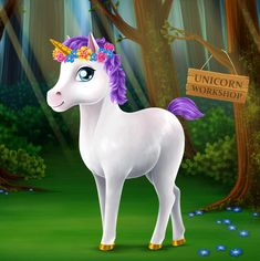 Hi, look what I created in Princess Gloria Horse Club 2! #TutoTOONSGames