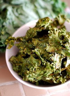 Kale Chips with Sea Salt - Sea Salt recipes curated by SavingStar Grocery Coupons. Save money on your groceries at SavingStar.com