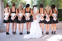 Be a Brilliant Bridesmaid; A guide to bridesmaid duties Bridesmaid Duties, White Bridesmaid Dresses, Bridesmaid Shoes, Blue Bridesmaids, Wedding Dresses, Wedding Looks, Chic Wedding, Wedding Stuff, Black And White Wedding Theme
