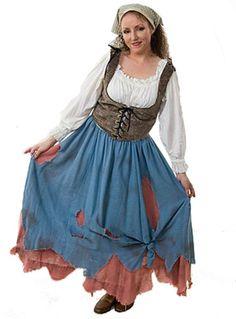 Cinderella before the ball  sc 1 st  Pinterest & Cinderella Rags Costume by ~Quinzel-Creations on deviantART | Disney ...