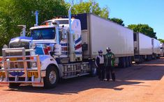 LCV Road Train Northern Territory Australia
